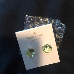 Kate spade mint gumdrops earrings